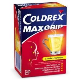 Coldrex MaxGrip smak cytrynowy  x 10sasz.