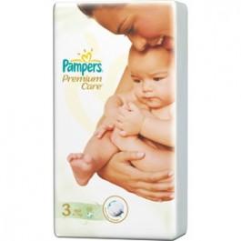 Pampers Premium Care rozmiar 3 (4-9kg) x60 szt