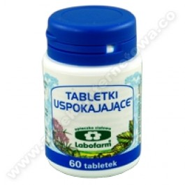 Tabletki uspokajające x 60tabl.