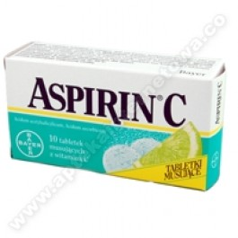 Aspirin C x 10tabl.mus.