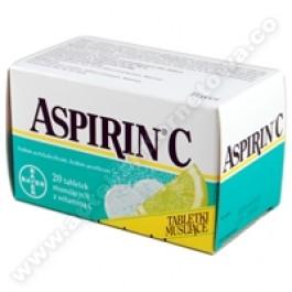 Aspirin C x 20tabl.mus.