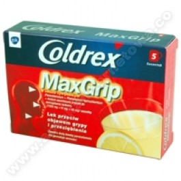 Coldrex MaxGrip sm. cytryn. x 5sasz.
