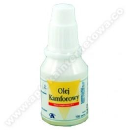 Olej kamforowy 10% płyn 10g