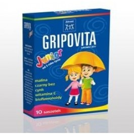 Zdrovit Gripovita Junior x 10sasz