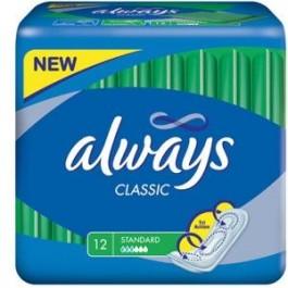 Podpaski ALWAYS Classic Standard 12 szt.