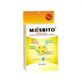 MOSBITO Plastry odstraszające komary 12szt.