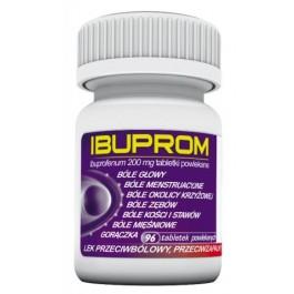 Ibuprom 200mg x 96 tabl. (butelka)