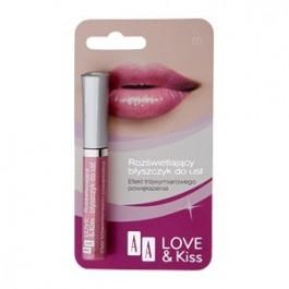 AA Love & Kiss Rozświetlający błyszczyk do ust Kuszący Wrzos 1 szt.