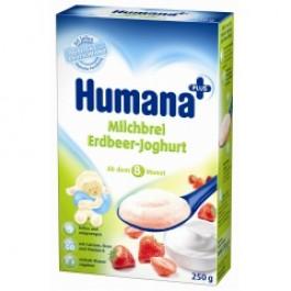 Humana Kaszka mleczna z jogurtem i truskawkami 250 g.