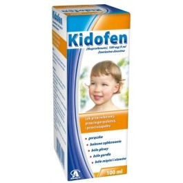 Kidofen 100mg/5ml zawiesina doustna100ml