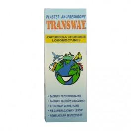 TRANSWAY plaster zapobiegające chorobie lokomocyjnej x 1szt.