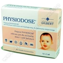 Physiodose płyn do przemywania oczu i nosa 5ml x 12szt.