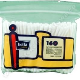 Patyczki higieniczne BELLA COTTON x 160 szt./folia/