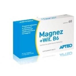 Magnez + witamina B6 APTEO x 60 tabl.