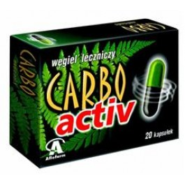 Carbo Activ x 20 kaps.