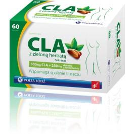 CLA z zieloną herbatą Polfa x 60 kaps.