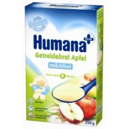 Humana Kaszka bezmleczna HA/SL ryżowo-kukurydziana z jabłkami 250 g.