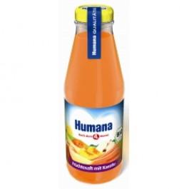 Humana Sok BIO Owoce i Marchewka 200 ml.