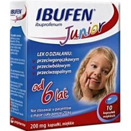 Ibufen Junior 200mg x 10 kaps.