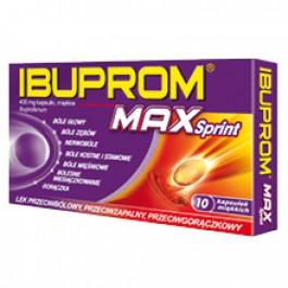 Ibuprom MAX Sprint  x 10 kaps.