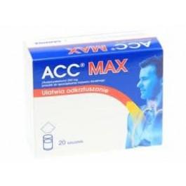 Acc Max 200mg x 20sasz.