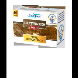 Naturkaps Lecytyna 1200 Forte x 40kaps.