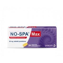 No-Spa Max 80mg x 20 tabl.