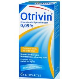 Otrivin 0,05% krople do nosa 10ml
