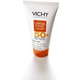 VICHY CAPITAL SOLEIL krem do twarzy nawilżający SPF50+  50 ml.