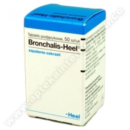 HEEL Bronchalis x 50tabl. - homeopatia - dorośli