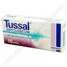 Tussal Antitussicum 15mg x 10tabl.
