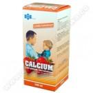 Calcium syrop truskawkowy 150ml