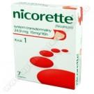 Nicorette 0,015g/16h x 7plast.