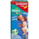 Pampers ACTIVE BABY JUNIOR (5) (11-25) x 52szt.