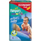Pampers ACTIVE BABY rozmiar 3 (4-9kg) x 70szt.