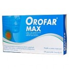 Orofar MAX x 30pastyl.