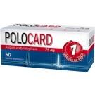 Polocard 75mg x 60tabl.