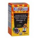 Kidabion o smaku czarnej porzeczki x 30 kaps. do żucia