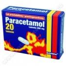 Paracetamol 500mg x 20tabl.
