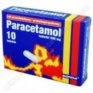 Paracetamol 500mg x 10 tabl.