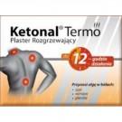 KETONAL TERMO Plaster rozgrzewający x 20szt.
