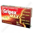 Gripex Max x 10tabl.
