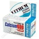 Vitrum Calcium 600 + Vit.D400 x 30tabl.
