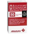 Glucocard 01 sensor paski testowe 50szt.