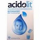Acidolit bezsmakowy x 10 sasz.