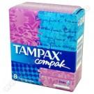Tampony higieniczne TAMPAX Mini 8 szt.
