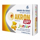 Akron Sept Junior x 18 tabl. do ssania