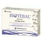 Biotebal 2,5 mg x 30 tabl.