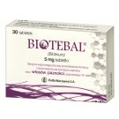 Biotebal 5 mg x 30 tabl.