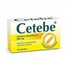 Cetebe 500 mg x 30 kaps.
